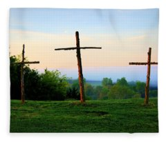 On The Hill Fleece Blanket