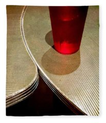On The Right. #redglass #tables Fleece Blanket
