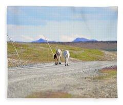 On The Way Fleece Blanket
