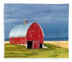 On Trout Creek Road Fleece Blanket