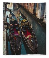 Once In Venice Fleece Blanket