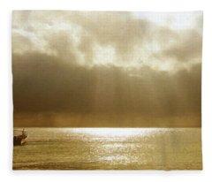 One Boat Fleece Blanket
