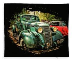 One Cool 1937 Studebaker Sedan Fleece Blanket
