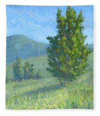 One Fine Spring Day Fleece Blanket