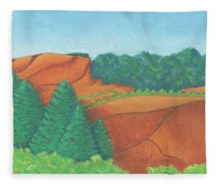 One Mesa Fleece Blanket