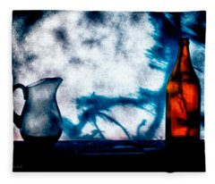 One Red Bottle Fleece Blanket