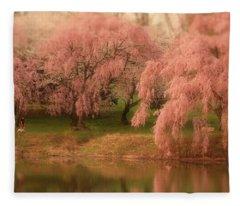 One Spring Day - Holmdel Park Fleece Blanket