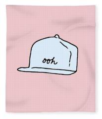 Ooh Hat Fleece Blanket