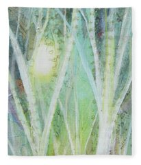 Opalescent Twilight I Fleece Blanket