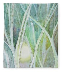 Opalescent Twilight II Fleece Blanket