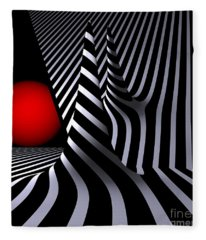 Opart Versiera Fleece Blanket