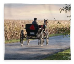 Open Road Open Buggy Fleece Blanket