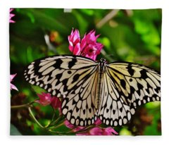 Open Wings Fleece Blanket