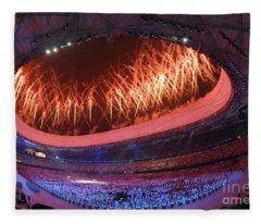 Opening Ceremony, Xxix Olympiad Fleece Blanket