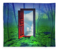 Opening Doors Fleece Blanket
