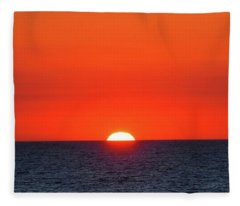 Orange Slices Fleece Blanket