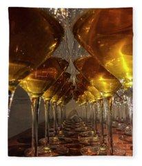 Fleece Blanket featuring the photograph Orange Wine by Alex Lapidus
