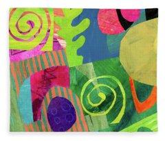 Orbits Fleece Blanket