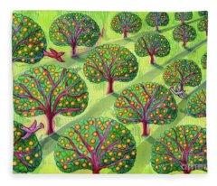 Orchard Fleece Blanket