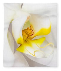 Orchid 4 Fleece Blanket
