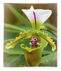 Orchid Allure Fleece Blanket