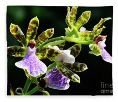 Orchids For You Fleece Blanket