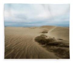 Oregon Dune Wasteland 1 Fleece Blanket