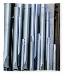 Organ Pipes II Fleece Blanket