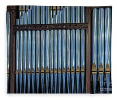 Organ Pipes Fleece Blanket