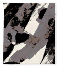 Organic 1 Abstract Fleece Blanket