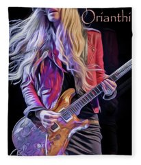 Orianthi Fleece Blanket