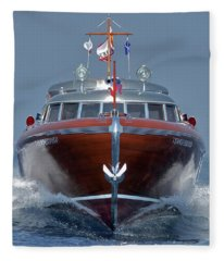 Thunderbird Yacht - The Original  Fleece Blanket