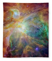 Orion Nebula Fleece Blanket