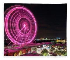 Orlando Eye Fleece Blanket