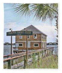 Ormond Yacht Club Fleece Blanket
