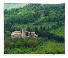 Orvieto Castle Fleece Blanket