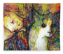 Oscar And Coco Fleece Blanket