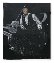 Oscar Peterson Fleece Blanket