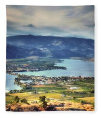 Osoyoos Lake 2 Fleece Blanket