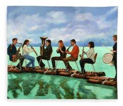 Ottetto In Navigazione Fleece Blanket