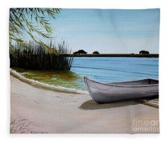 Our Beach Fleece Blanket