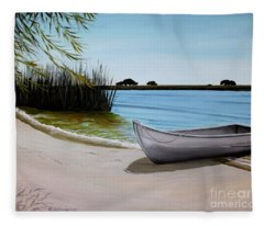 Our Beach Fleece Blanket