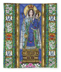Our Lady Of Consolation Fleece Blanket