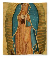 Our Lady Of Guadalupe - Jcoga Fleece Blanket