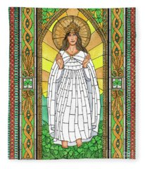 Our Lady Of Knock Fleece Blanket