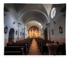Our Lady Of Loreto Fleece Blanket