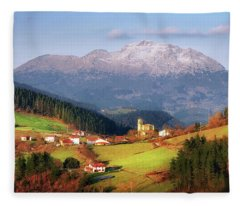 Our Little Switzerland Fleece Blanket