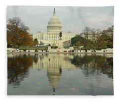 Our Nation's Capitol Fleece Blanket