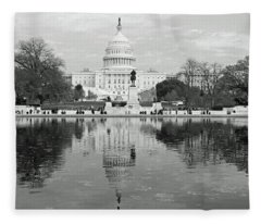 Our Nation's Capitol - Washington Dc  Fleece Blanket