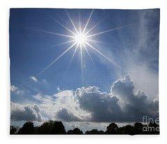 Our Shining Star Fleece Blanket